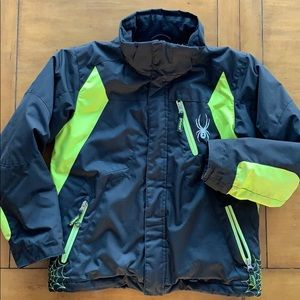 Used Spyder Jacket Ski - Winter Boys 10
